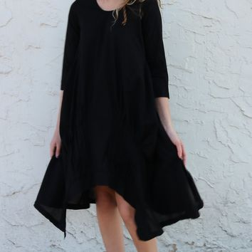 Lexi Dress - Black by Tulip Clothing
