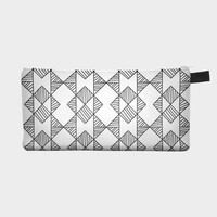 Black and White Pencil Case Pouch