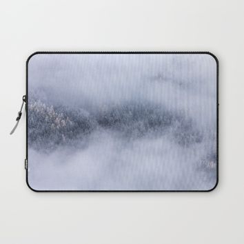Beneath The Fog Laptop Sleeve by Mixed Imagery