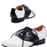 Saddle-105 Costume Shoes - Size 7