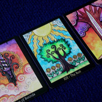 The Tarot of Trees - 78 Card Deck