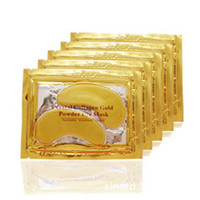 20pcs=10packs Gold Crystal Collagen Eye Mask Hotsale Eye Patches For The Eye Anti-Wrinkle Remove Black Eye Face Care