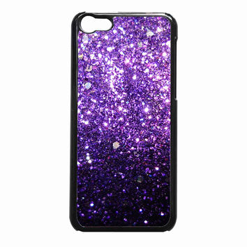 Glitter Print Ombre Fade Pattern 32792266-2f5e-4606-a9f2-7a10cad25d2e FOR iPhone 5C CASE *NP*