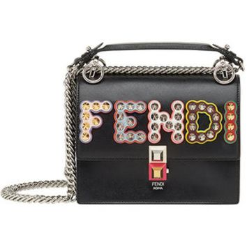 DCCKIN3 Fendi Small Kan I Branded Shoulder Bag