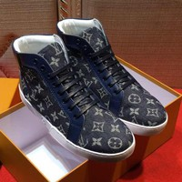 Louis Vuitton Fashion Casual Flats Shoes Boots Shoes