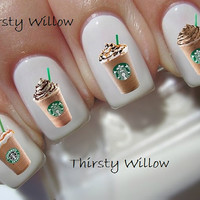 Starbucks Frappuccino Nail Decals
