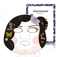 BRTC Make Over Mask Bewitch Character (Pure Brightening Moisturizing Mask)  *exp.date 07/18*