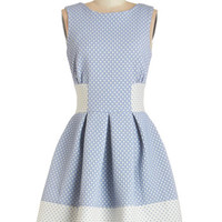 Closet Sleeveless A-line Studying Fine Hearts Dress