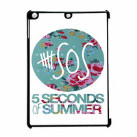 5 Seconds Of Summer Floral Pink iPad Air Case