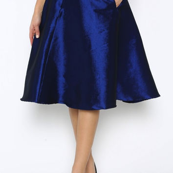 Royal Blue Ballet Skirt