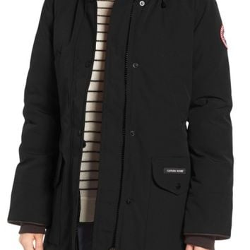 Canada Goose Trillium Fusion Fit Hooded Parka with Genuine Coyote Fur Trim | Nordstrom