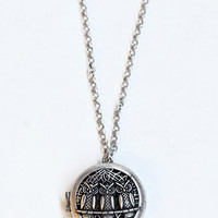 Owl Be Yours Locket Necklace - $16.00 : ThreadSence.com, Your Spot For Indie Clothing & Indie Urban Culture