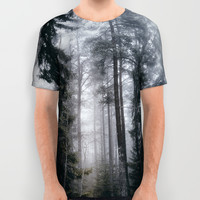 Into the forest we go All Over Print Shirt by happymelvin