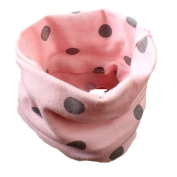 2017 new winter cotton star owl bunny dots car crown heart baby scarf boys girls o ring collars children kids scarves wear