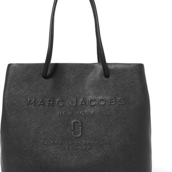 Marc Jacobs - Embossed textured-leather tote