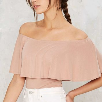 Layer It On Me Ruffle Top