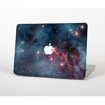 "The Bright Pink Nebula Space Skin Set for the Apple MacBook Pro 13"" with Retina Display"