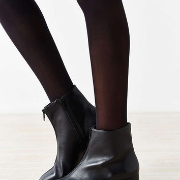 Vagabond Leather Daisy Zipper Ankle Boot - Urban Outfitters