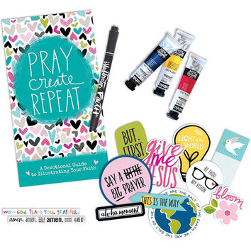 Bible Journaling Starter Kit by Illustrated Faith