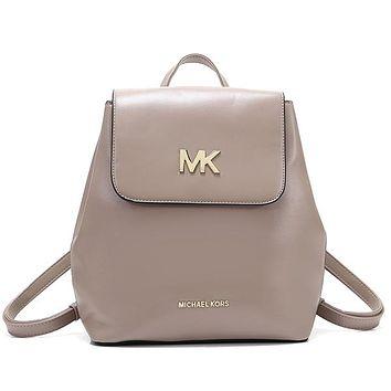 MK Michael Kors Women Fashion Leather Backpack Bookbag Rucksack