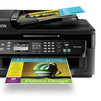 Epson WorkForce WF-2540 Wireless All-in-One Color Inkjet Printer, Copier, Scanner ADF, Fax. Prints from Tablet/Smartphone. AirPrint Compatible (C11CC36201) | Best Product Review