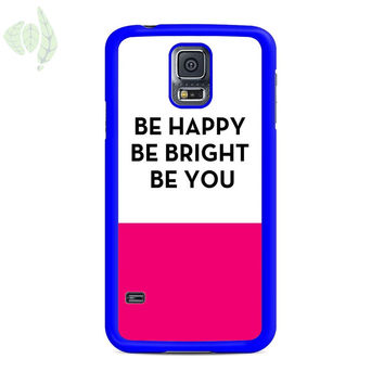 Be Happy Be Bright Be You Kate Spade Samsung Galaxy S5 Case