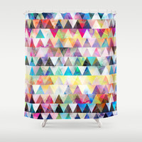 Mix #588 Shower Curtain by Ornaart