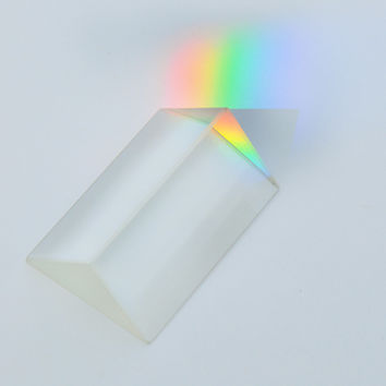 Glass Prism | Science | School Supplies | Education | Optics