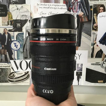 Cool Camera Lens Coffee Mug Gift