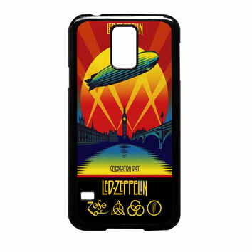 Led Zeppelin Poster Samsung Galaxy S5 Case