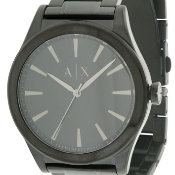 Armani Exchange Smart Black Stainless Steel Watch AX2322