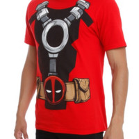 Marvel Deadpool Costume T-Shirt