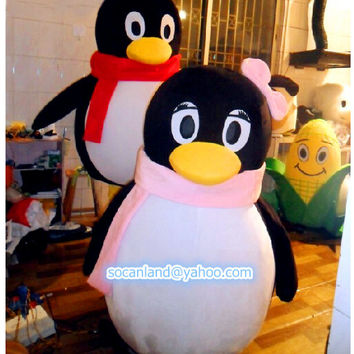 Penguin Mascot Costume,Cosplay Costume,Costume for Adults,Party Costume,Costume for 2014 Winter,Christmas Costume,Halloween Costume,Clothing