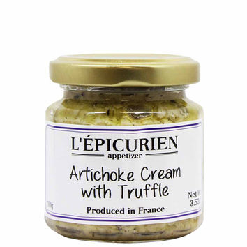 Epicurien Artichoke Cream with Truffle 3.5 oz