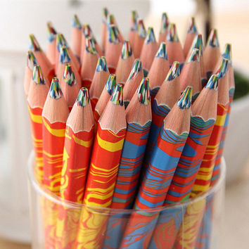 Colorful Pencil Colored Pencils Creative Professional Pencils Artist Sketching Colored Pencils for Kids Students Drawing School Supplies
