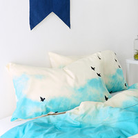 Shannon Clark For DENY Blue Skies Ahead Pillowcase - Set Of 2 - Urban Outfitters