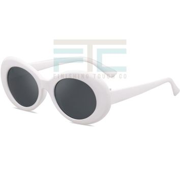 Retro Style Oval Vintage Ladies 60's Inspired Sunglasses