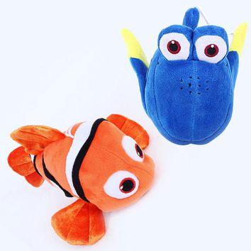 Finding Nemo 2 Finding Dory Plush Toys 25cm Nemo & Dory Fish Plush Soft Stuffed Cartoon Animals Toys Gifts for Kids Children