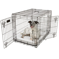 Top Paw Double Door Dog Crate | Crates | PetSmart
