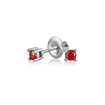 Bling Jewelry Itty Bitty Red Stud