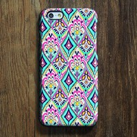 Ethnic Coral Floral iPhone XR Case | iPhone XS Max plus Case | iPhone 5 Case | Galaxy Case 3D N058