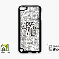 Pierce The Veil Song Lyric iPod Touch 5th Case Cover by Avallen