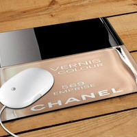 Chanel Nail Polish Emprise Mousepad | Aneend