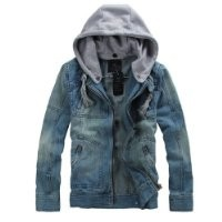 Partiss Outerwear Hooded Motorcycle Jacket,Medium