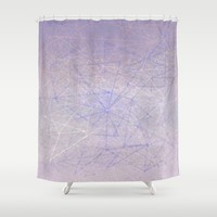 dream structure Shower Curtain by Bunny Noir
