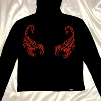 SWEET LORD O'MIGHTY! THE SCORPION TURTLENECK IN BLACK