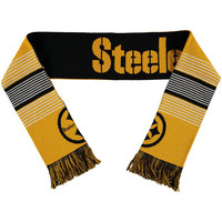 Pittsburgh Steelers Reversible Split Logo Scarf