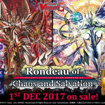 Rondeau of Chaos & Salvation - Clan Booster Pack - Cardfight Vanguard G