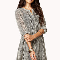 Free Spirit Ikat Dress
