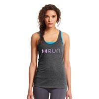 Under Armour Women's UA Glow Run Charged Cotton® Tri-Blend Tank